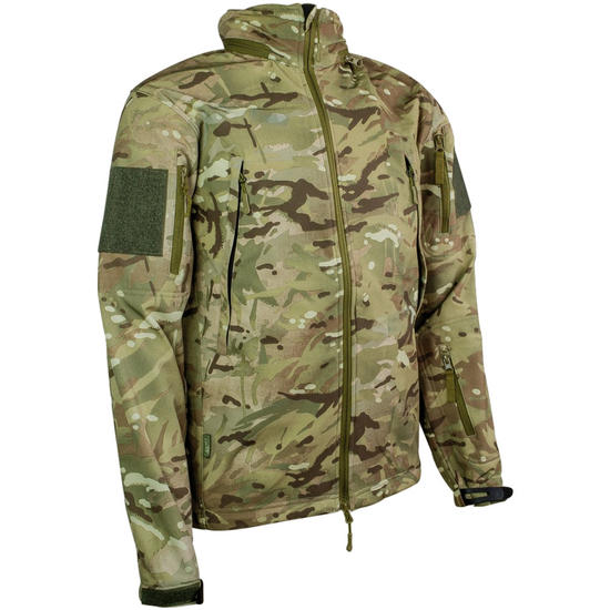 Highlander Tactical Soft Shell Jacket HMTC