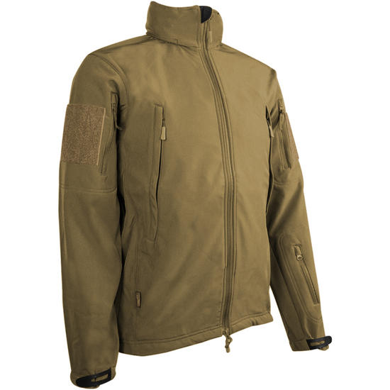 Highlander Tactical Soft Shell Jacket Tan
