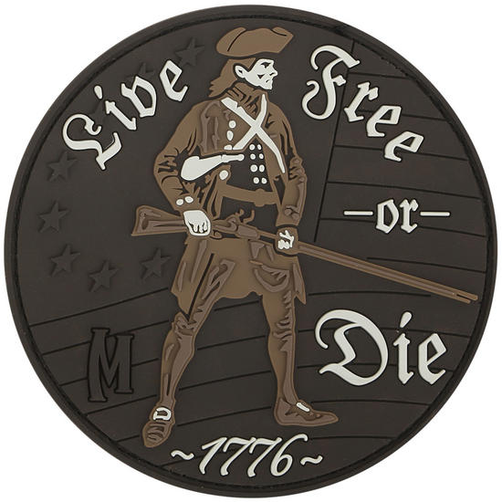 Maxpedition Live Free or Die (Arid) Morale Patch