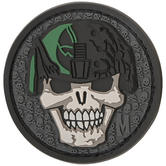 Maxpedition Soldier Skull (SWAT) Morale Patch
