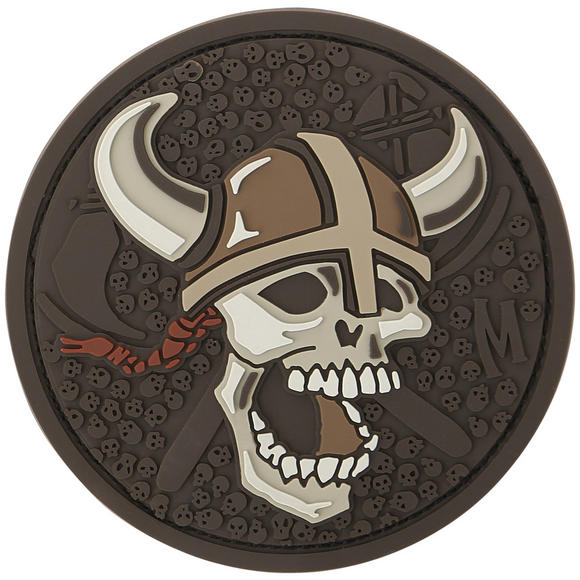Maxpedition Viking Skull (Arid) Morale Patch
