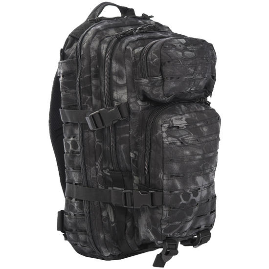 Mil-Tec US Assault Pack Small Laser Cut Mandra Night