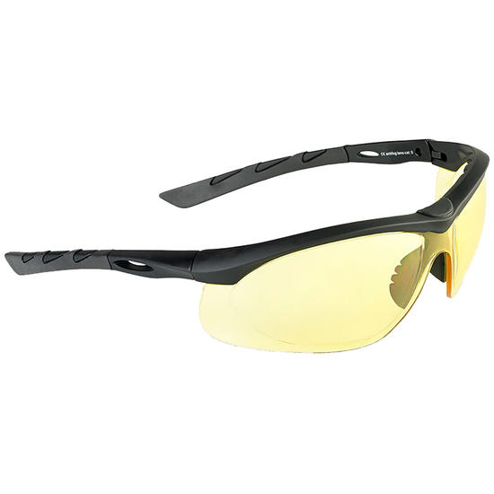 Glasses With Yellow Frame : Swiss Eye Lancer Sunglasses - Yellow Lens / Black Rubber ...
