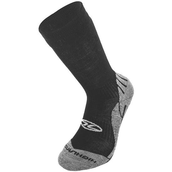 Highlander Bamboo Trekking Sock Black