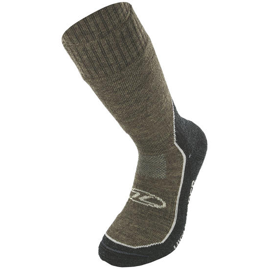 Highlander Explorer Merino Wool Hiking Sock Brown