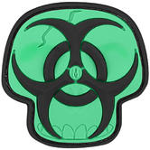 Maxpedition Biohazard Skull (Glow) Morale Patch