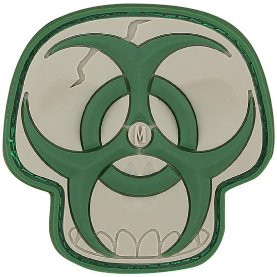 Maxpedition Biohazard Skull (Arid) Morale Patch