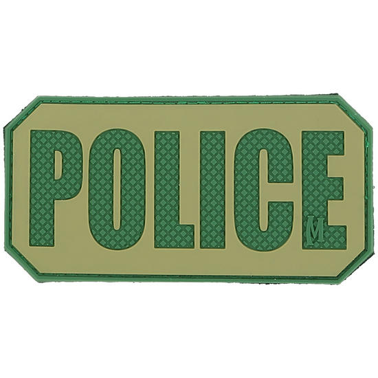 Maxpedition Police Identification Panel (Arid) Morale Patch