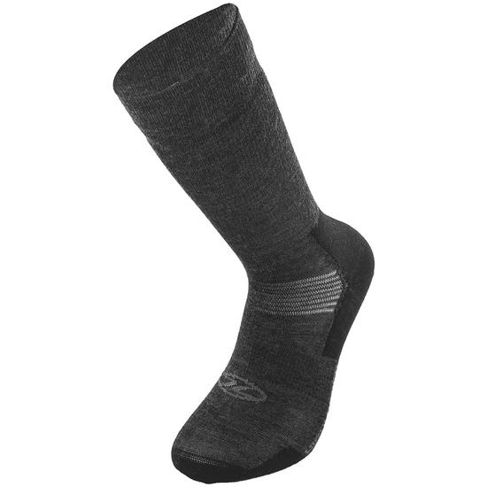 Highlander Merino Wool Crew Liner Sock Charcoal