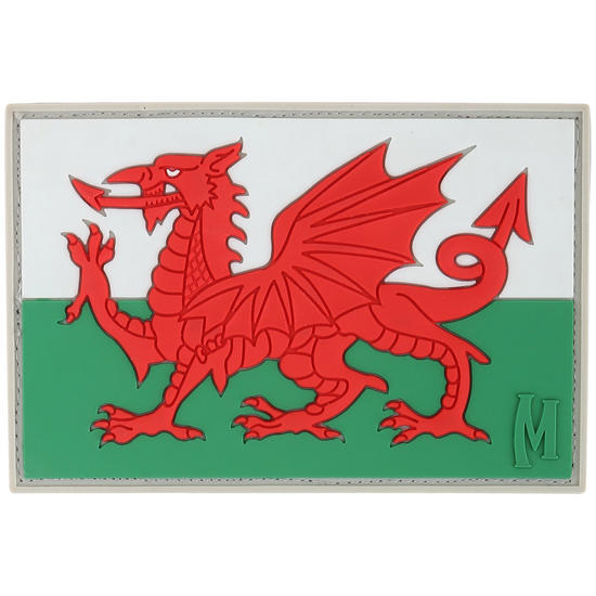 Maxpedition Welsh Flag (Full Colour) Morale Patch