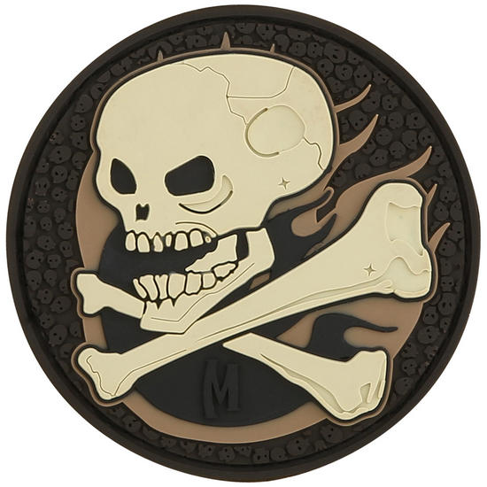 Maxpedition Skull (Arid) Morale Patch