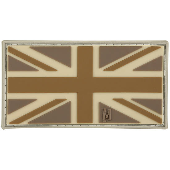 Maxpedition United Kingdom Flag (Arid) Morale Patch