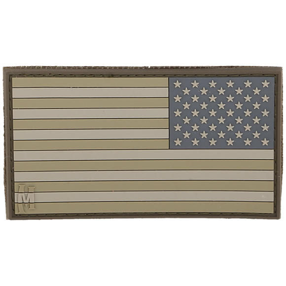 Maxpedition Reverse USA Flag Large (Arid) Morale Patch