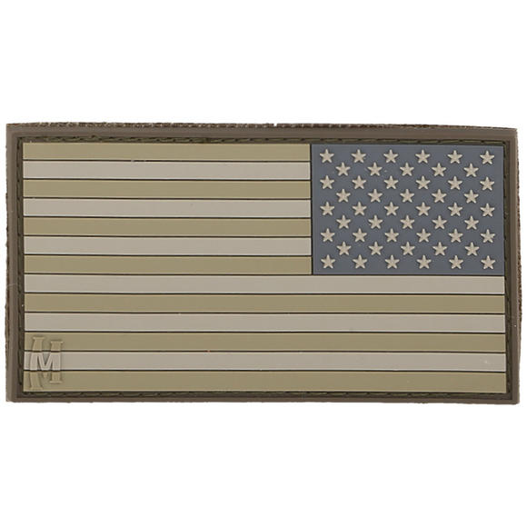 Maxpedition Reverse USA Flag Small (Arid) Morale Patch