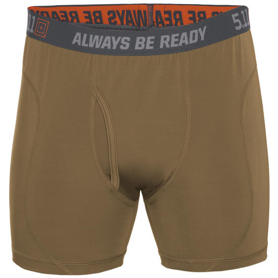 "5.11 Performance 6"" Brief Battle Brown"