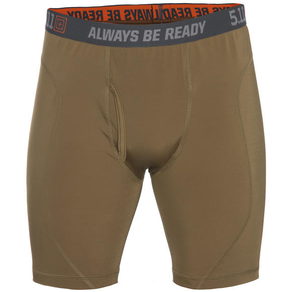 "5.11 Performance 9"" Brief Battle Brown"