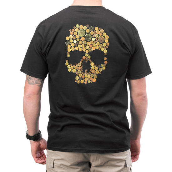 5.11 Skull Caliber Logo T-Shirt Black