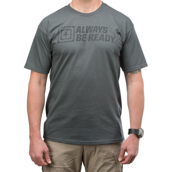5.11 ABR 2.0 Logo T-Shirt Charcoal