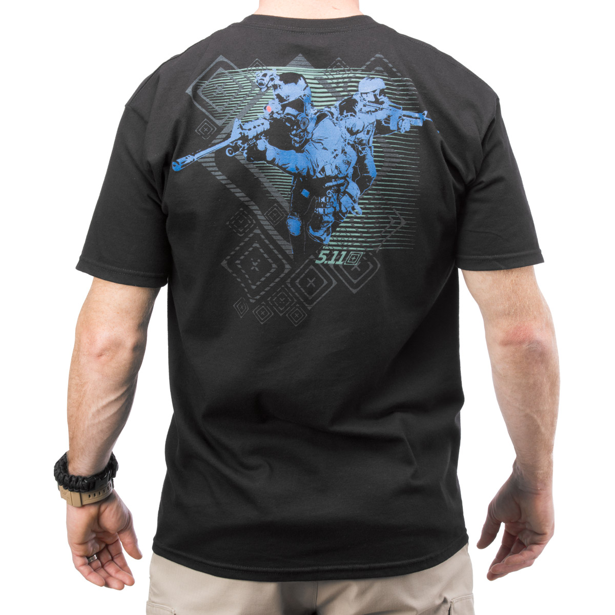 Red scope logo t shirt black military 1st for 6 dollar shirts coupon code free shipping