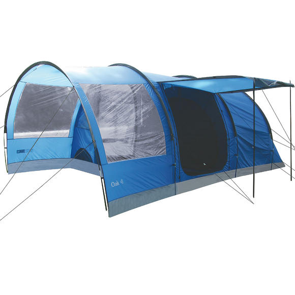 Highlander Oak 4 Tent Imperial Blue