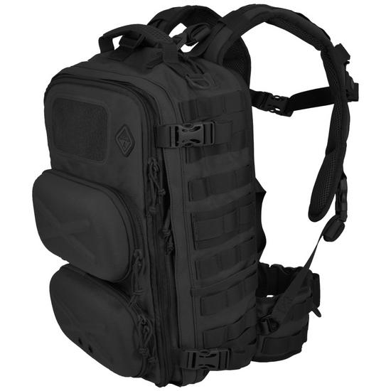 Hazard 4 Clerk Front/Back Pod Organizer Backpack Black