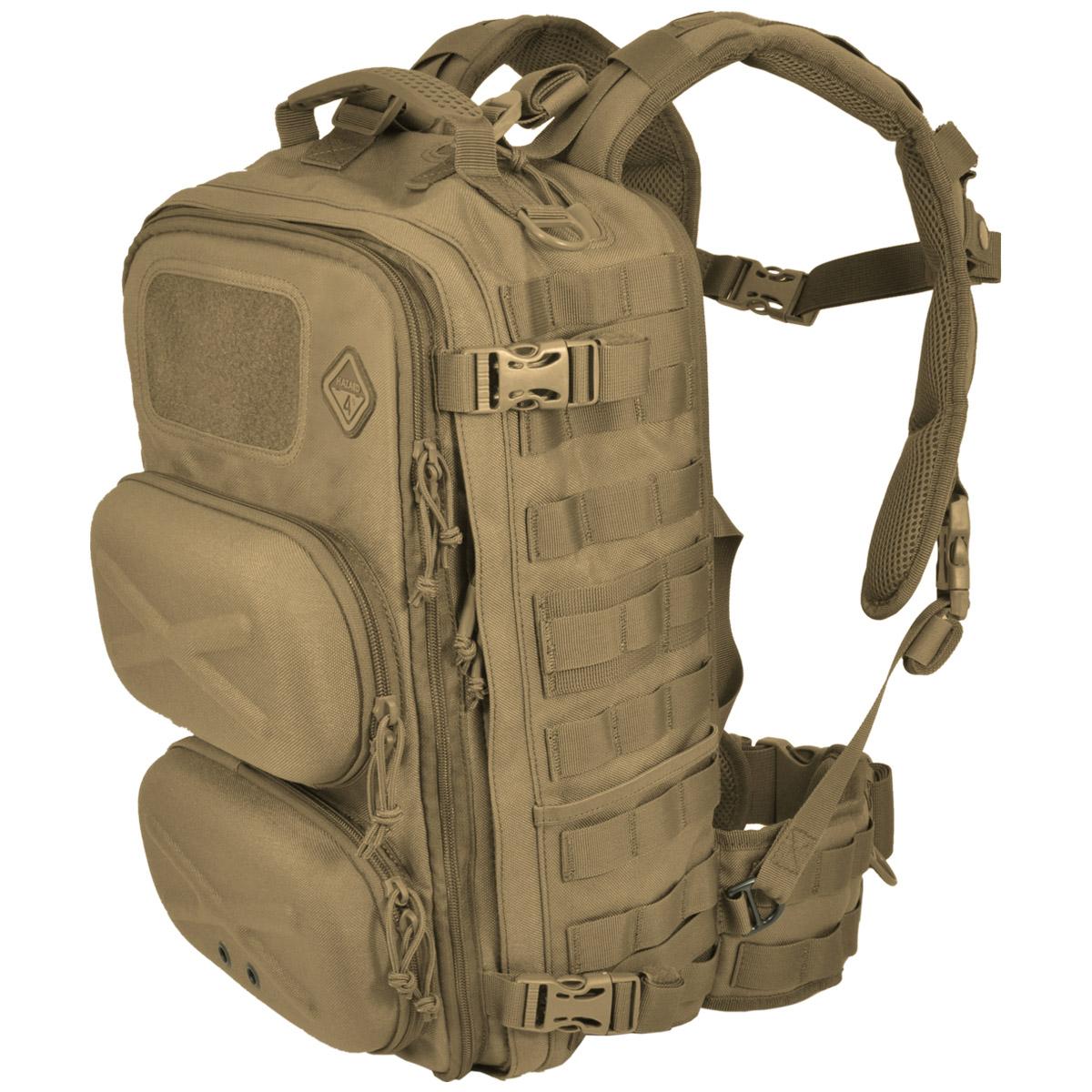Hazard 4 Clerk Front Back Pod Organizer Backpack Coyote