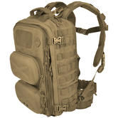 Hazard 4 Clerk Front/Back Pod Organizer Backpack Coyote