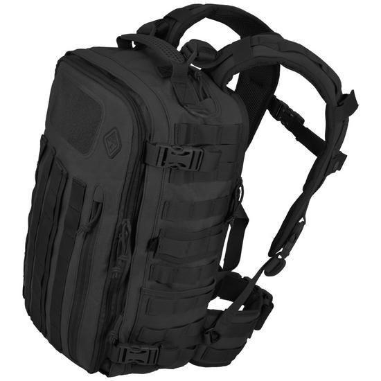 Hazard 4 Officer Front/Back Slim Organizer Backpack Black