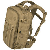 Hazard 4 Officer Front/Back Slim Organizer Backpack Coyote