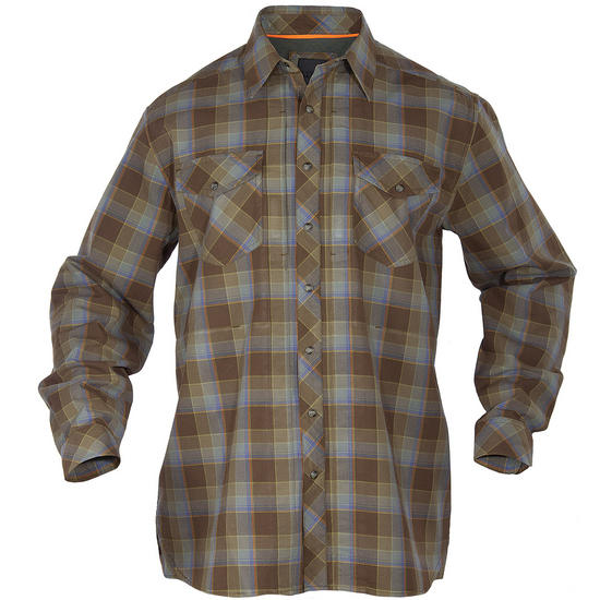 5.11 Flannel Long Sleeve Shirt Bark