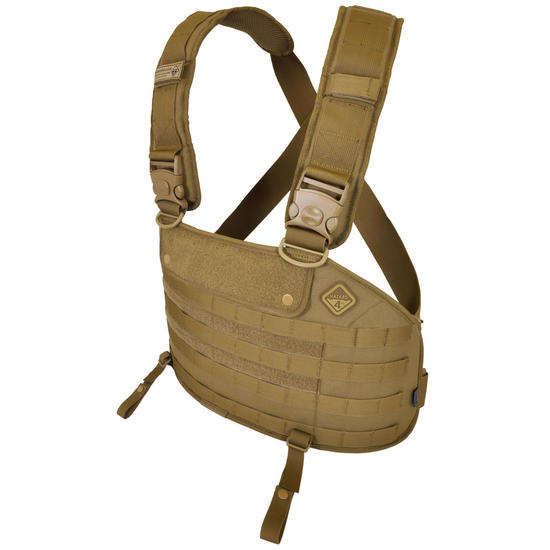 Hazard 4 Frontline MOLLE Chest Rig Coyote