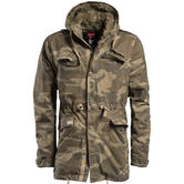 Surplus Raincheater Parka Woodland Washed