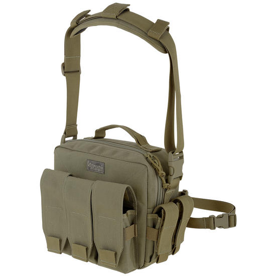 Maxpedition Active Shooter Triple Mag Bag Khaki