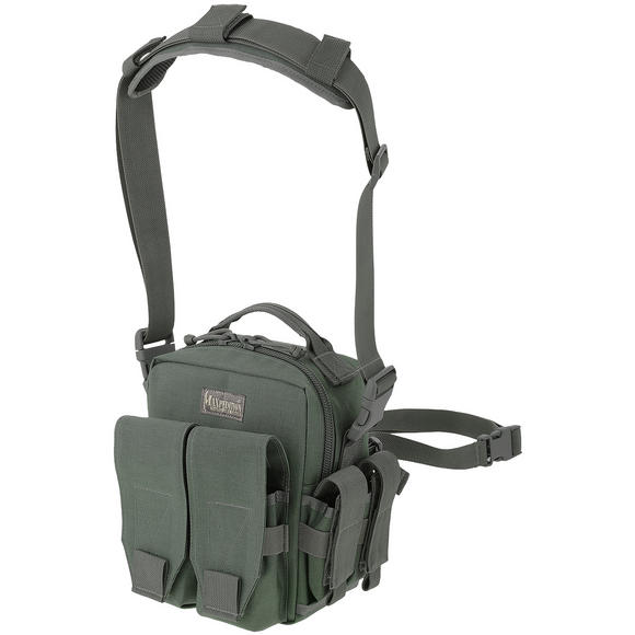 Maxpedition Active Shooter Double Mag Bag Foliage Green