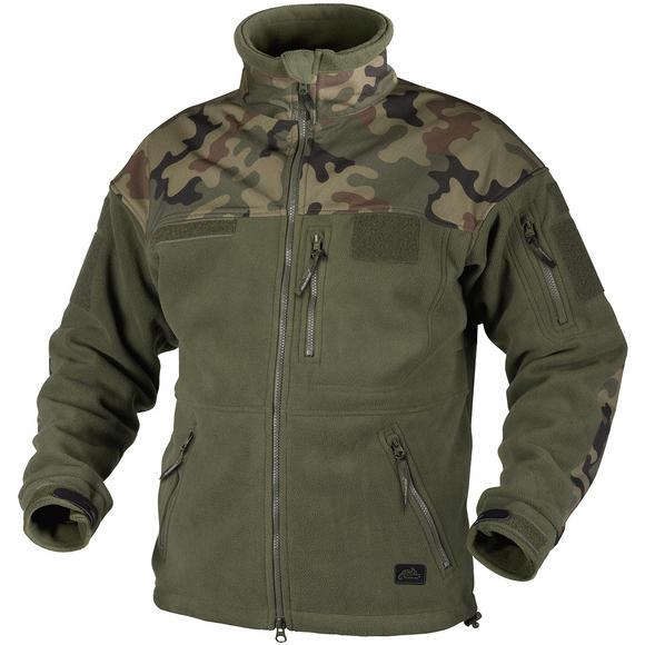 Helikon Infantry Duty Fleece Jacket Olive Green / Polish Woodland