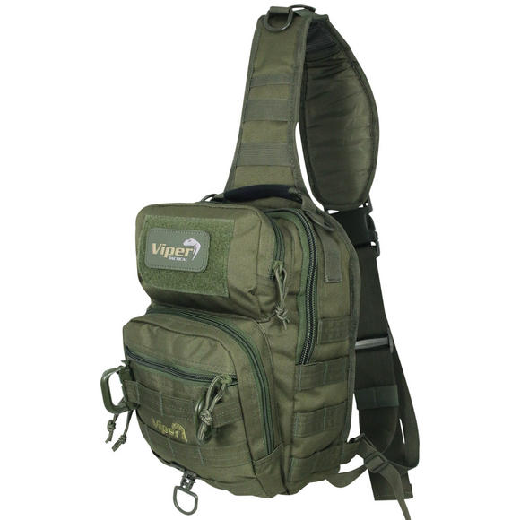Viper Shoulder Pack Olive Green