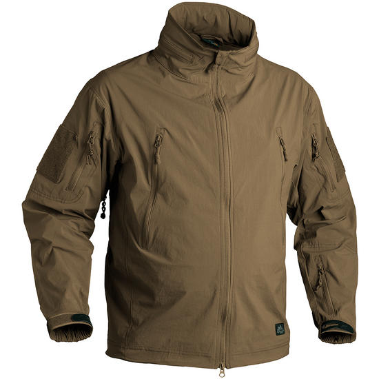 Helikon Trooper Soft Shell Jacket Mud Brown