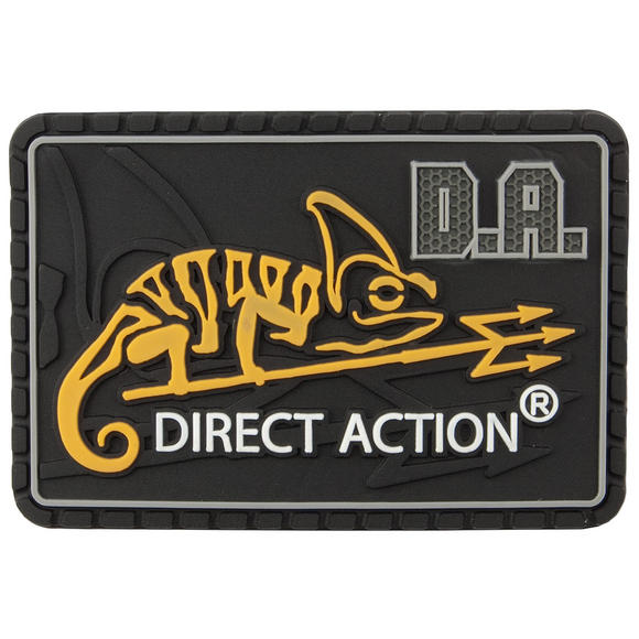 Direct Action Logo Patch Medium Black