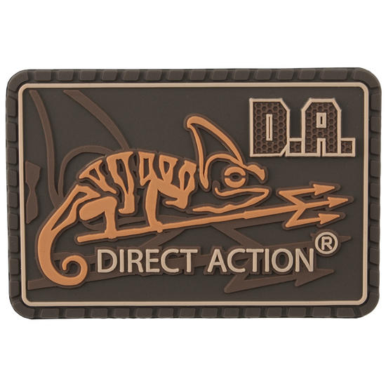 Direct Action Logo Patch Medium Coyote