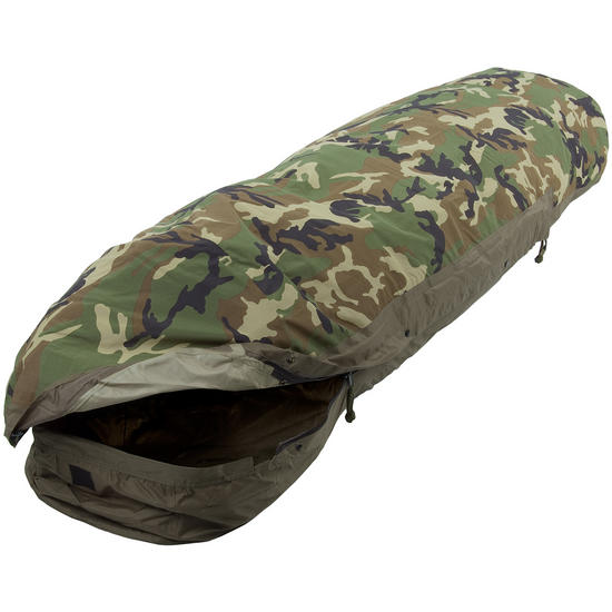 Mil-Tec Modular 3 Layer Sleeping Bag Cover Woodland