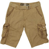 Mil-Tec Vintage Survival Shorts Prewashed Coyote
