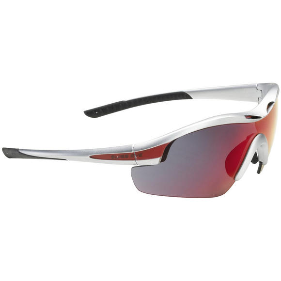 Swiss Eye Sunglasses Novena - 3 Lenses / Silver Matt Red Frame