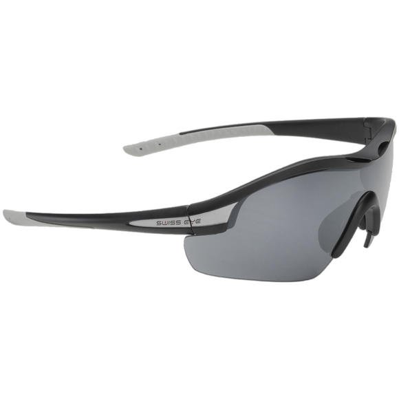 Swiss Eye Sunglasses Novena - 3 Lenses / Black Matt Grey Frame