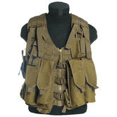 Mil-Tec AK74 Vest with Pouches Coyote
