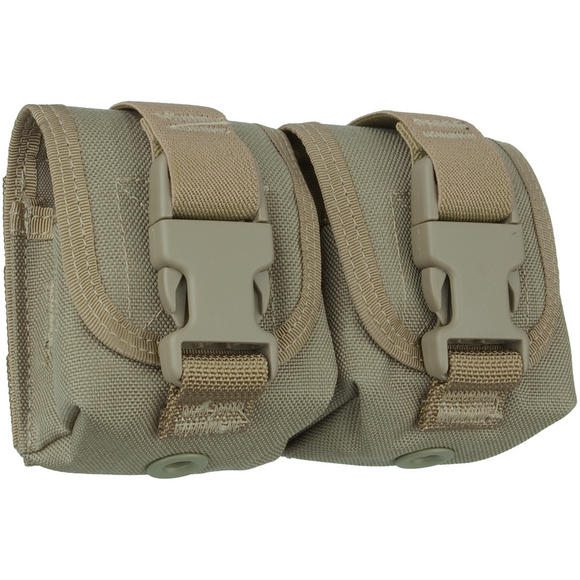 Maxpedition Double Frag Grenade Pouch Khaki