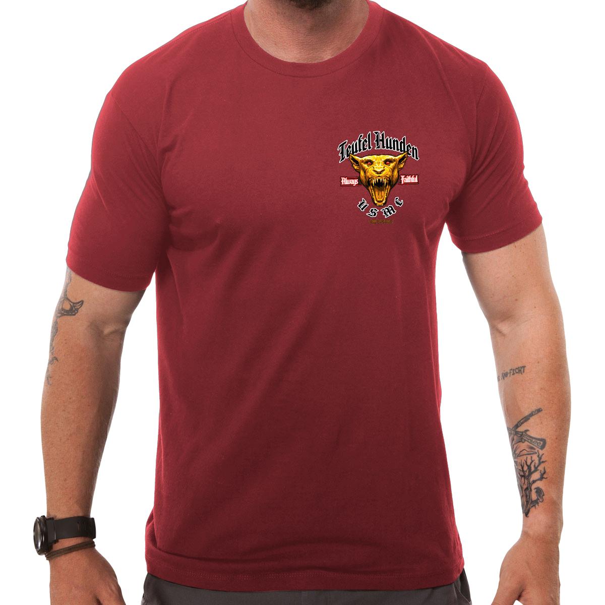 T shirt design red - 7 62 Design Usmc Devil Dog T Shirt Red 7 62 Design Usmc Devil Dog T Shirt Red