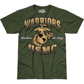 7.62 Design USMC Warriors T-Shirt Military Green