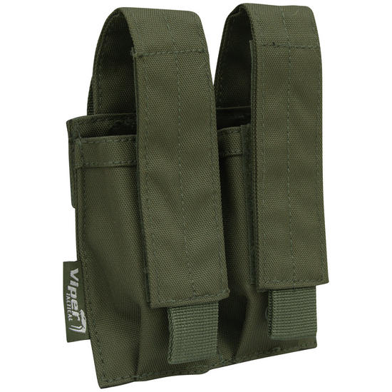 Viper Double Pistol Mag Pouch Olive Green