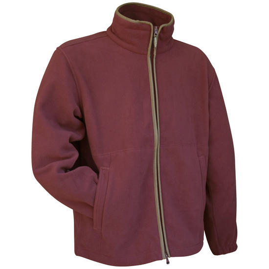 Jack Pyke Countryman Fleece Jacket Burgundy