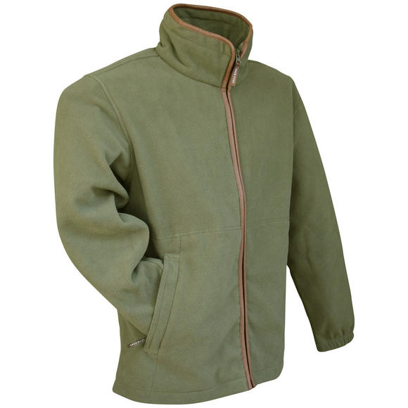 Jack Pyke Countryman Fleece Jacket Light Olive